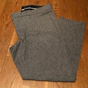 Banana Republic Gray Sloan Fit Pants - 12 Petite